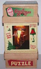 "A Christmas Story ""EXAMINING THE LEG LAMP"" 550 Pcs Holiday Movie Puzzle *NEW*"