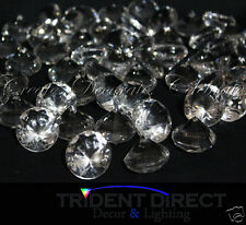 500g Acrylic Diamond Scatters Clear 30mm