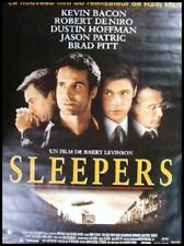 SLEPPERS Affiche Cinéma / Movie Poster BRAD PITT DENIRO KEVIN BACON