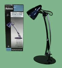 * Blue  Holmes Home Office Dorm Swing-Arm Task Lamp with 40W Bulb HL1767BP NEW *
