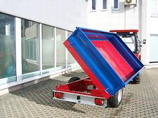 KRÜMA! Druckluftbremse DK3500 Einachs Dreiseiten Kipp Anhänger Kipper 3,5t StVZO