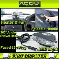 Ring RF100 12v 150w 2 in 1 Car Van Heater Demister Defroster Warmer & Cooler Fan