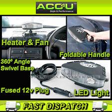 Anillo RF100 12 V 150 W 2 en 1 Calentador Desempañador Antivaho Calentador Coche Camioneta & Cooler Fan