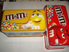 M&M's m&m's TAIWAN 2013 School Bus Tin box set of 2