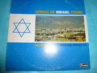 Uri Zifroni - Songs of Israel Today LP NICE Vinyl