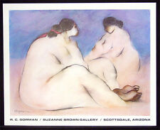 R C Gorman Hand Signed FINE ART GALLERY POSTER Red Ribbon SUBMIT AN OFFER