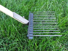 Super Pooper Scooper by JibberGear Metal Lawn Rake