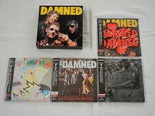 Damned JAPAN 4 titles Mini LP CD PROMO BOX SET