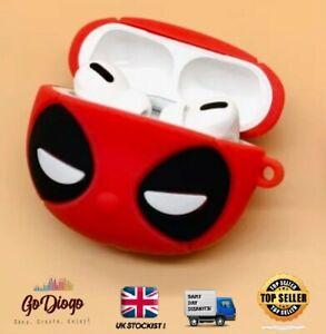 Marvel DEADPOOL Novelty Case For Apple Airpod PRO  UK SELLER & STOCKIST FREE P+P
