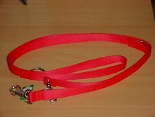Verlängerungsleine aus Nylon 2,20m / 13mm, rot