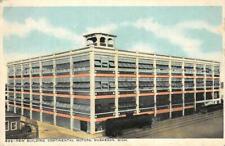 New Building, Continental Motors, Muskegon, MI Automobile 1918 Vintage Postcard