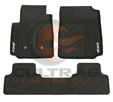 2015-2018 Colorado Crew Cab Z71 GM Front & Rear All Weather Floor Mats Black