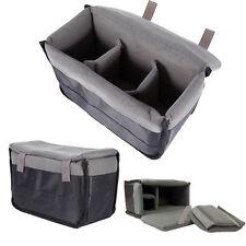 Shockproof Insert Padded Divider Protective Case Bag Pouch For DSLR Camera Lens