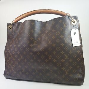 Auth Louis Vuitton Artsy GM Monogram M40259 Without Key Holder Guaranteed LC690