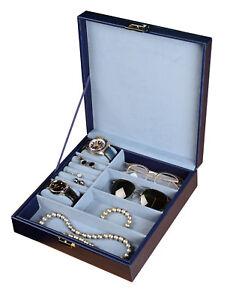 Brillenbox Uhren & Schmuckbox Sweetheart Schmuckkästchen Brillen, Uhren, Schmuck