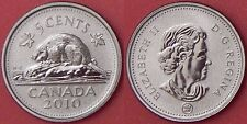 Specimen 2010 Canada 5 Cents From Mint's Set