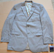 Paul Fredrick Mens 100% Wool Two-Button Notch Lapel Suit Jacket 46 Extra Long