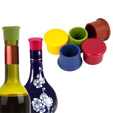1Pcs Silicone Wine Beer Beverage Cover Bottle Cap Stopper Home Kitchen Bar Tools