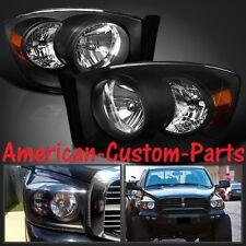 Klarglas Scheinwerfer black Dodge Ram 1500 Bj 2006-2008 Pickup >>> LAGERWARE <<<