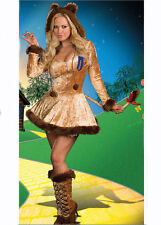 Courageous Lion Ladies Fancy Dress Up Party Costume Full Outfit Extra Large