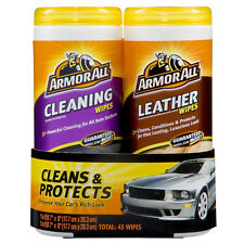 ArmorAll Cleaning and Leather Wipes KIT, Great for the whole car