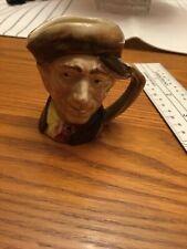 "Royal Doulton Toby Jug Arry Character Miniature Mug ""A"" Mark"