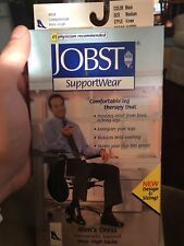 Jobst for Men Dress Compression Knee High Socks 8-15 mmhg Therapeutic Supports