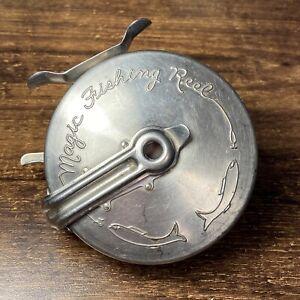 Vintage Magic Fly Fishing Reel Denver Co. Pat Pending - 8087