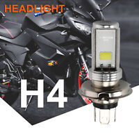 Motorcycle Cool H4 White Headlight 3030 LED Hi-Lo Beam Light Lamp Bulb 6500K