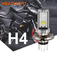 Motorcycle Cool H4 White Headlight 3030 LED Hi-lo Beam Light Lamp Bulb 6500k UK