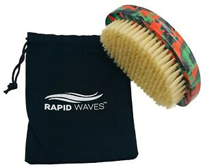 Rapid Waves 180, 360, 540 & 720 Wavers SOFT Camouflage Curve Palm Wave Brush