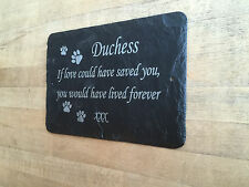 Beautiful Pet memorial Grave Marker - Hand Made to Order Add Message 1st 4 Signs