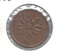 1963 Canadian Penny