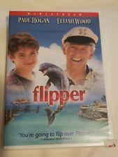 Flipper [New DVD] Dolby Digital Widescreen Paul Hogan 2003 Elijah Wood Sealed