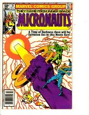 Lot Of 7 Micronauts Marvel Comic Books # 31 32 33 34 35 36 37 Inner Space RJ6