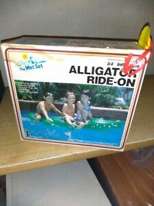 Alligatore gonfiabile cavalcabile Intex Childrens Large Inflatable Ride On