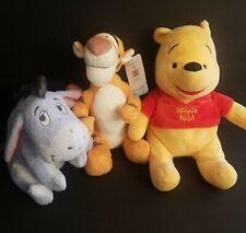 "Winnie the Pooh 13"" Plush Bear Kohls Cares Disney Stuffed Animal Tigger Eeyore"