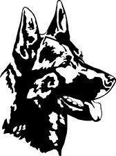 German Shepherd/Alsatian GSD Dog Car Van Land rover Window Bumper Sticker SB23