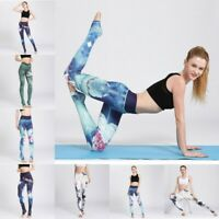 Women's Yoga Pants Fit Leggings Running Jogging Gym Exercise Sports Trousers HOT