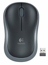 Logitech NEW M185 Grey Wireless Optical Mouse Compact for PC Laptop MAC Linux