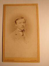 Herford - H. Brinkmann - wohl als Schüler - Portrait / CDV