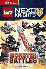 LEGO NEXO KNIGHTS: Monster Battles (DK Readers Level 3)-ExLibrary