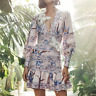 NEW Zimmerman Designer Dress Floral Sexy V-neck Summer Beach Dress High Quality