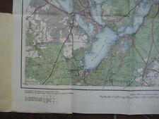 Landkarte Berlin Blatt 5 Potsdam 1934 Landesaufnahme Kladow Staaken Ketzin Utz