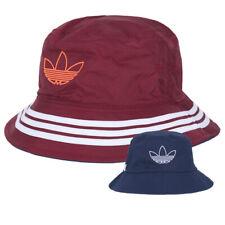 Adidas Original SPRT Reversible Bucket Trefoil Hat Red/Navy FM1356