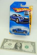 Hot Wheels Mainline 2010 New Models Metallic Blue '10 Ford Shelby GT500 R0924