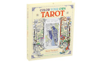 Color Your Own Tarot CARD DECK & Instructions Set FOURNIER