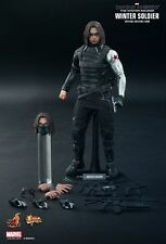 HOT TOYS 1/6 CAPTAIN AMERICA THE WINTER SOLDIER MMS241 BUCKY BARNES FIGURE