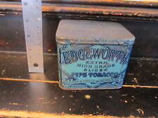 Edgewoth Extra High Grade Sliced Pipe Tobacco Can vintage