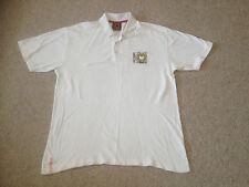 MK Dons Polo Shirt Adult  2XL  White (DL)